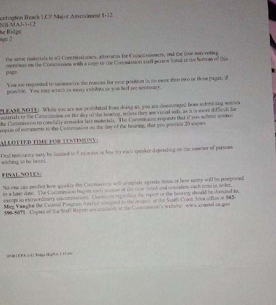 Page 2 of the Notice...