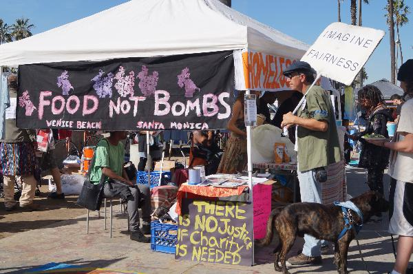 Venice Food Not Bomb...