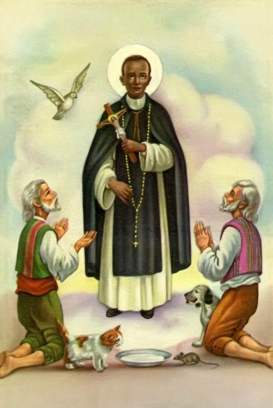 St Martin de Porres...