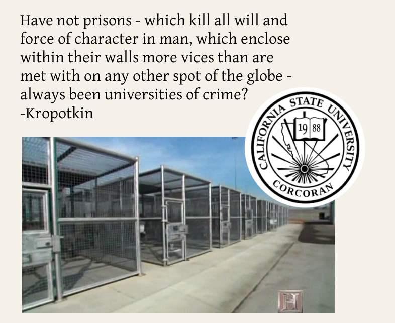 Kropotkin Prison...