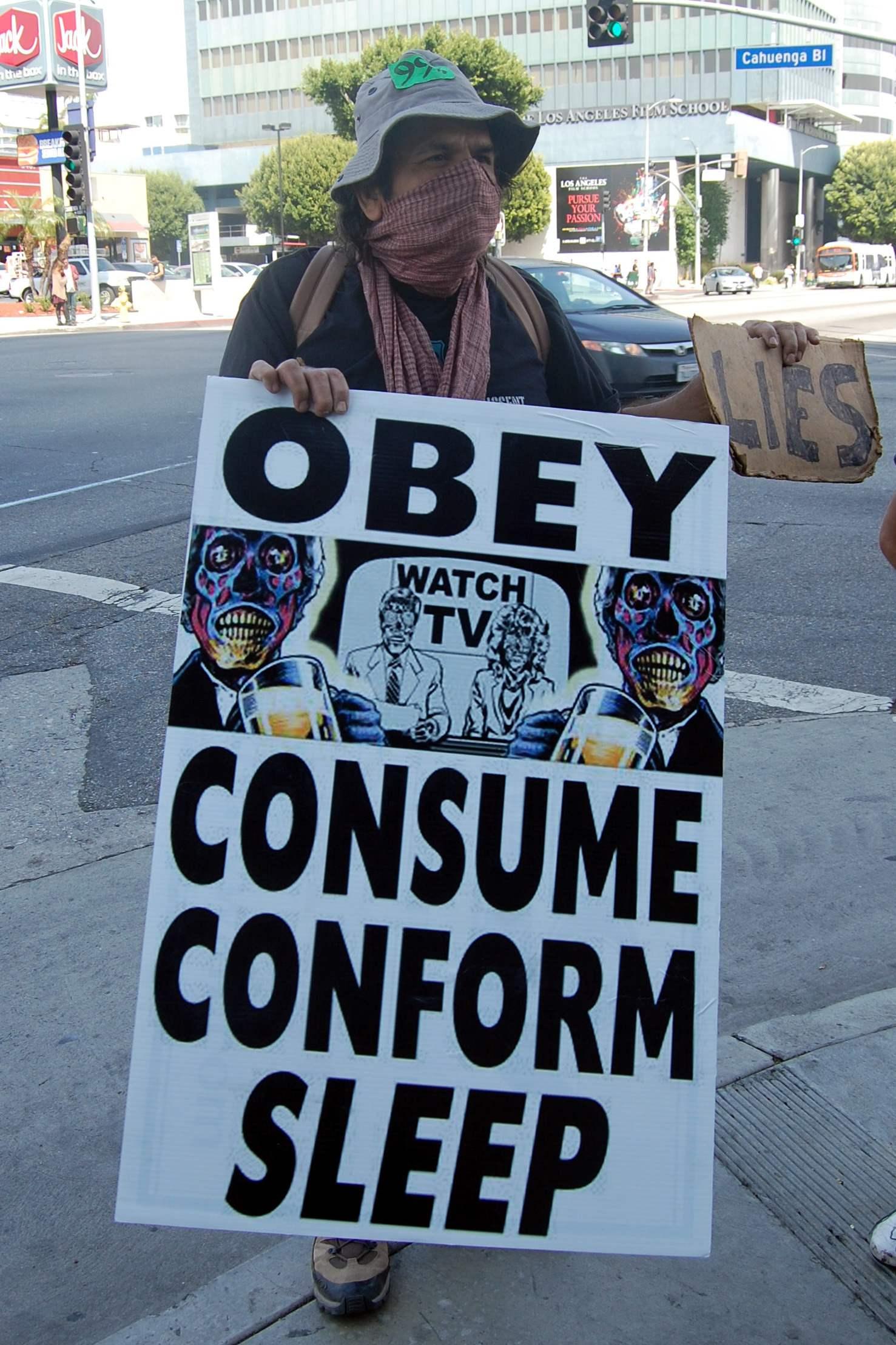 OBEY. CONSUME. CONFO...
