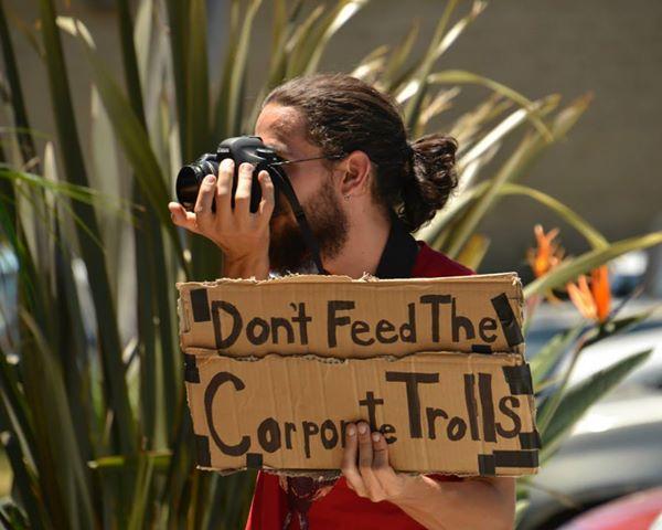 #OccupyTheFCC outsid...