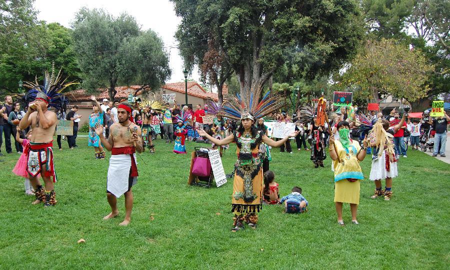 Aztec Dancers Openni...