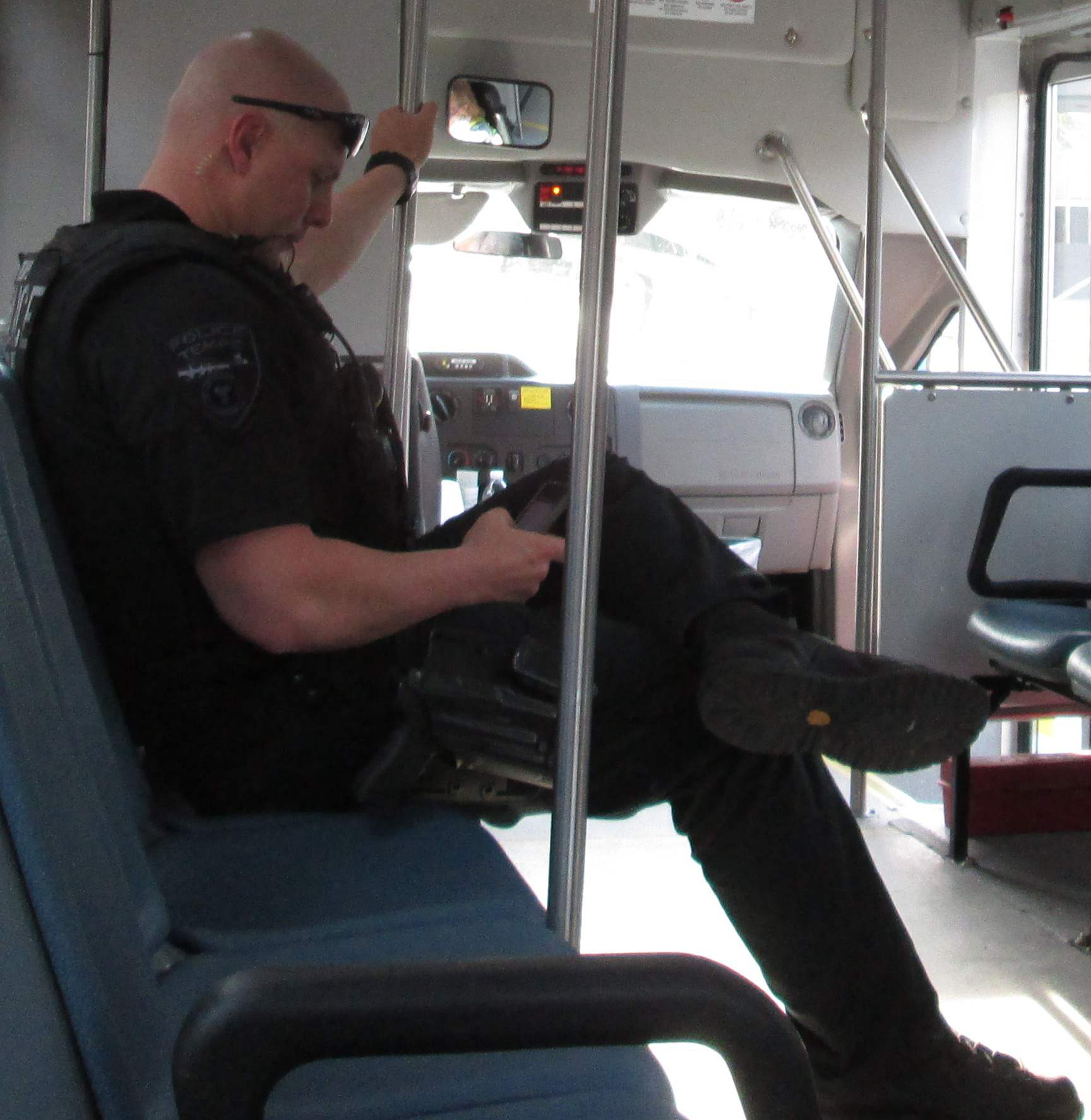 Tempe Police - A job...