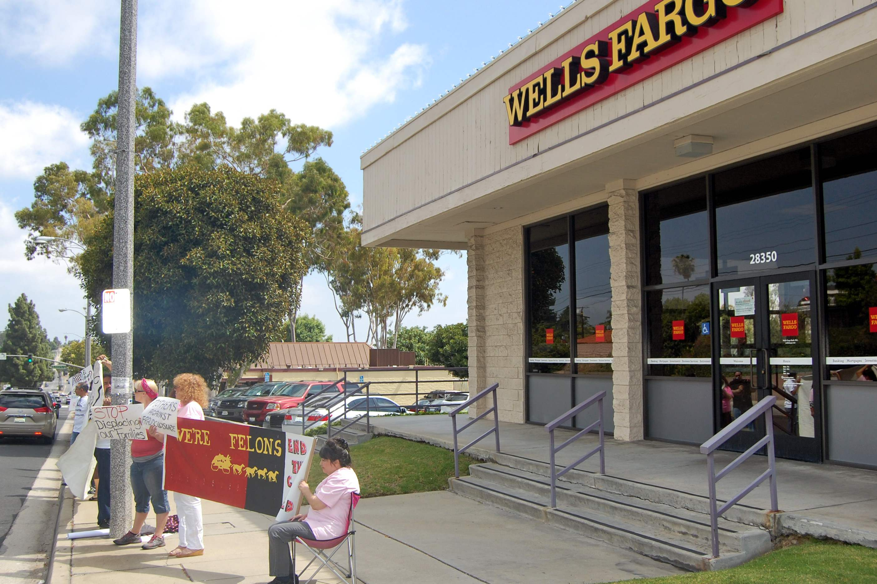 Wells Fargo = We'r...