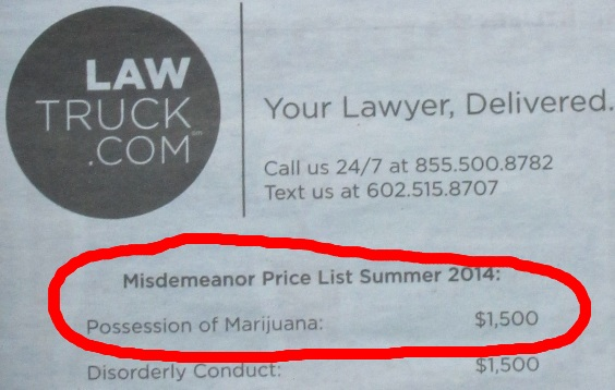 Legal costs for mari...