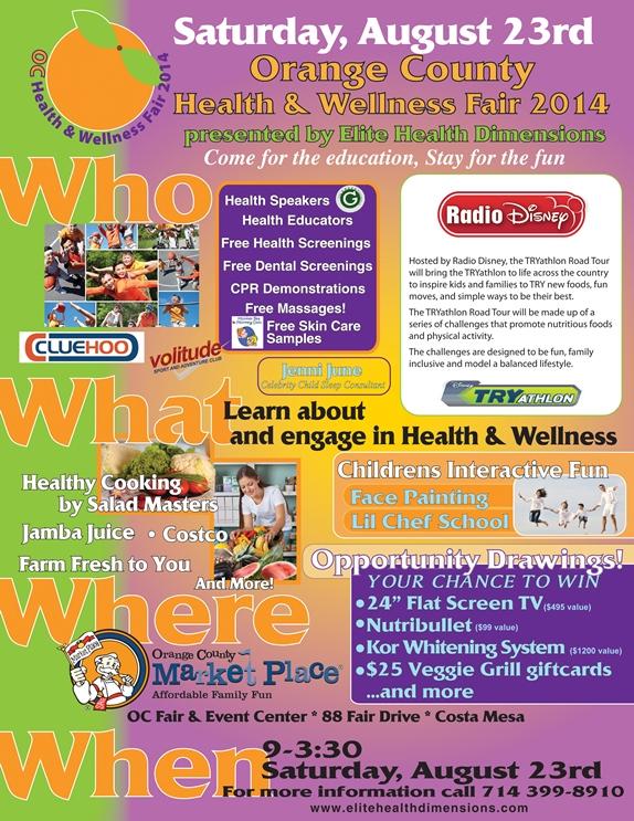 Free Health Fair Flyer Template Romeondinez