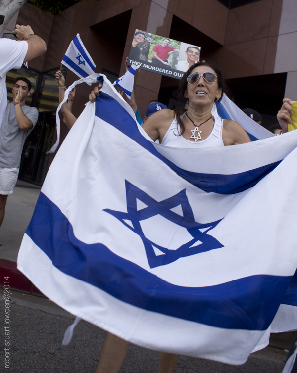 Pro Israeli Protesto...