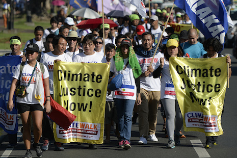 Philippine activists...
