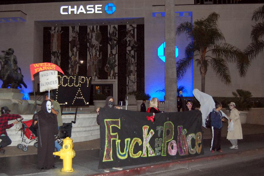 Protest Assembles Al...