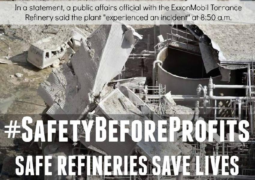 Safety Before Profit...