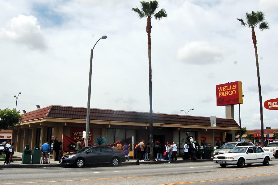 Occupy Wells Fargo w...