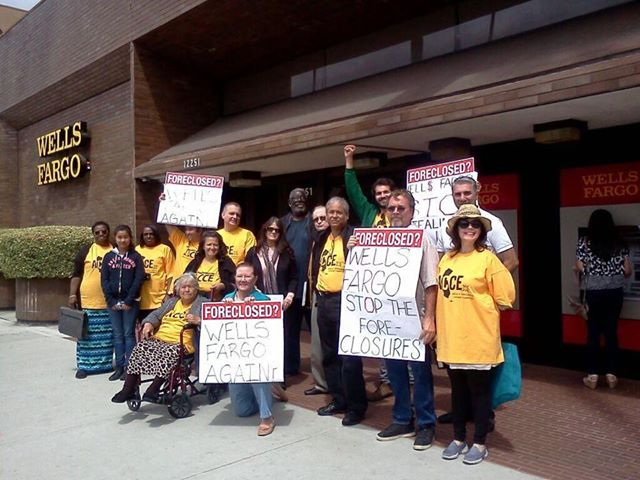 ACCE protests at a S...