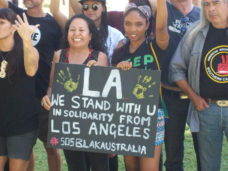 Los Angeles Supports...