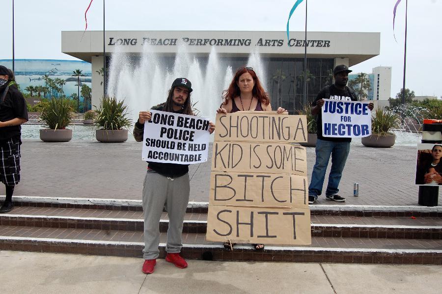 Long Beach Police Sh...