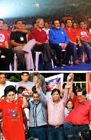Philippines: Erap Estrada endorses leftist leader Neri Colmenares for senator