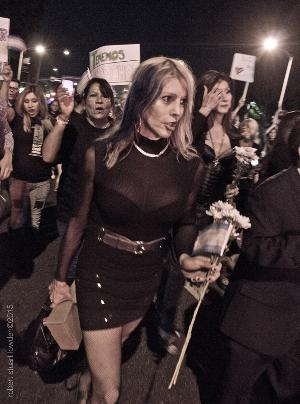 West Hollywood Commemorates The Trans Day of Remembrance 2015 Part 1 of 2 Photosets