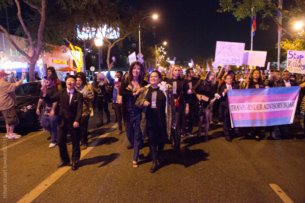 Trans March WeHo Nov...