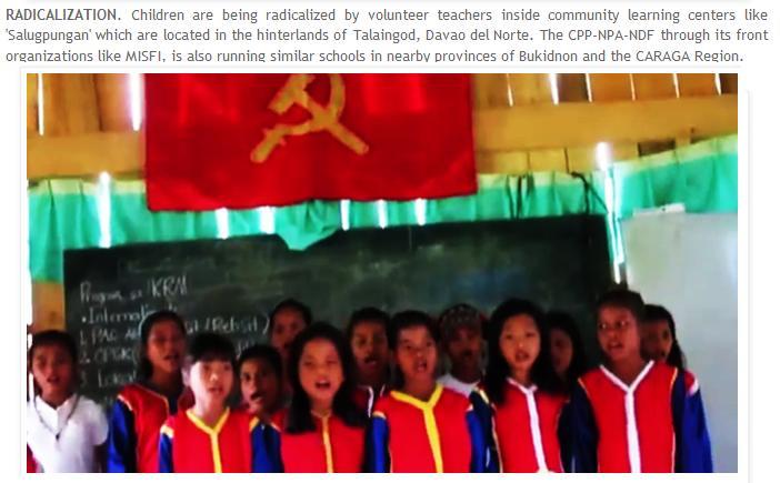 Lumad School...