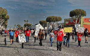#ImDying #JusticeForNoelAguilar March from Long Beach to Compton Sheriff Station
