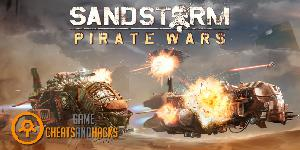 Sandstorm Pirate Wars Cheats Power Cells, Bolts