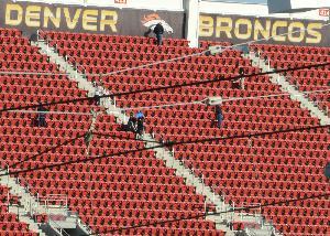 Preparations for Super Bowl 50