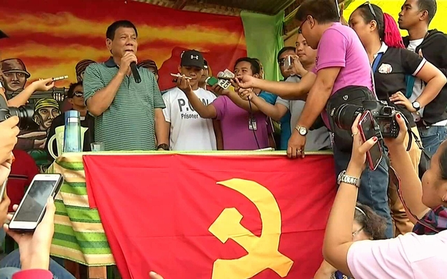 Duterte with the CPP...