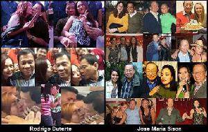 Rodrigo Duterte & Jose Maria Sison (CPP-NDF)
