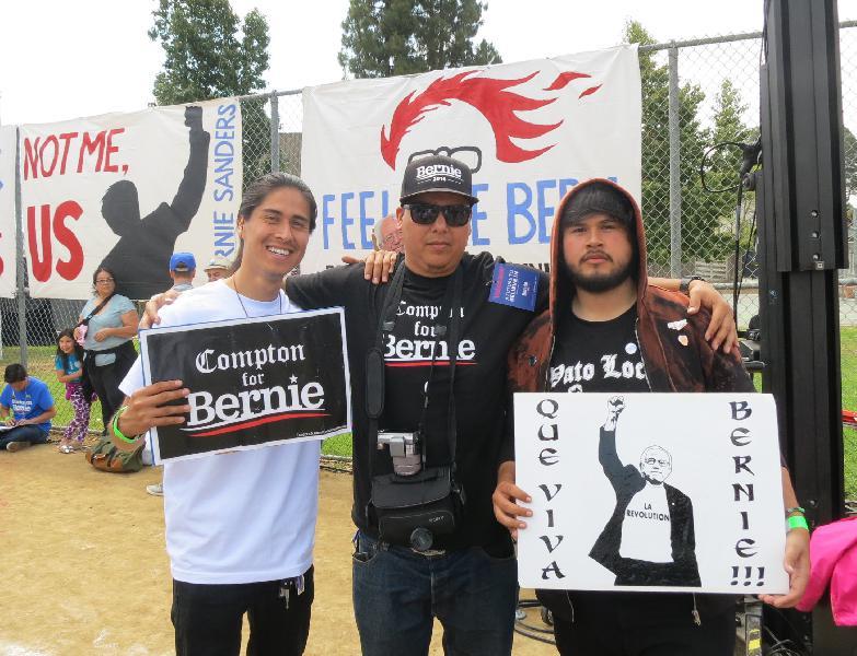 Bernie Sanders in Li...