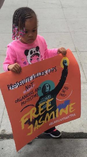 Black Lives Matter Activist Jasmine Abdullah Sentenced Three Months in Jail on Attempted L