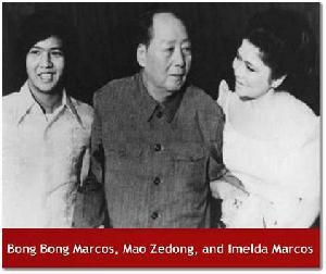 Mao, Bongbong & Imelda Marcos
