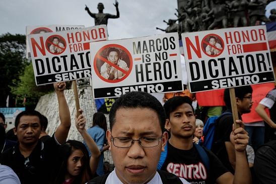 Marcos is not a hero...