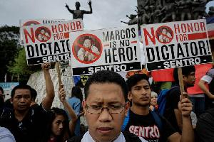 Marcos is not a hero