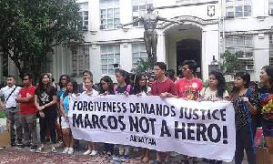 Marcos was not a hero