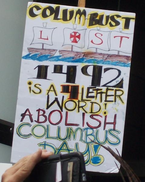 Abolish Columbus Day...