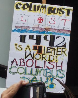 Abolish Columbus Day!
