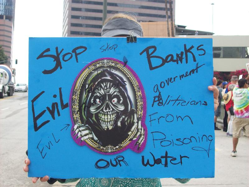 Stop banks!...