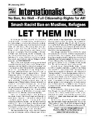 IG Leaflet: LET THEM IN!