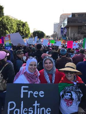 Use woman-power to smash The Zionist Entity