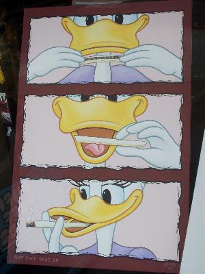 World-famous cartoon characters interract with guests!