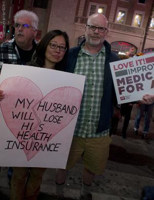 Pro Affordable Care Act Activists