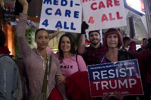 California Nurse Protestors