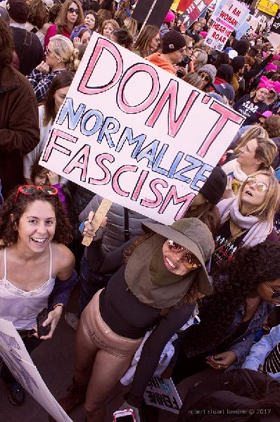 Woman's March Los An...