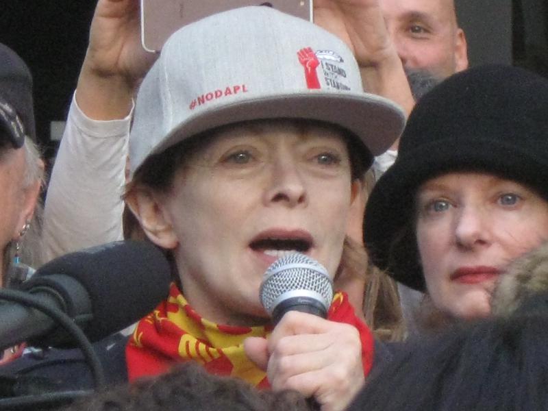 Actress-activist Fra...