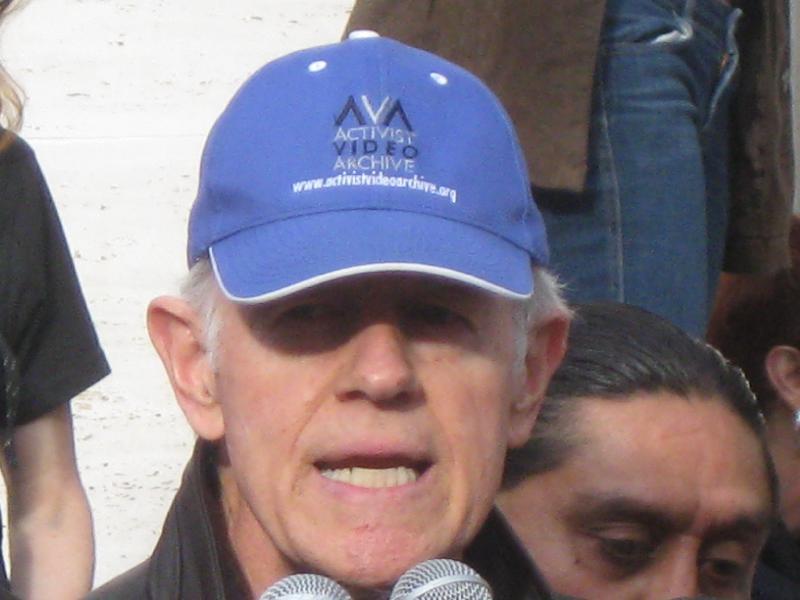 Actor-activist Mike ...