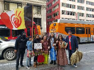 Indigenous, Sacred Lands Disrespected at L.A. Women's March