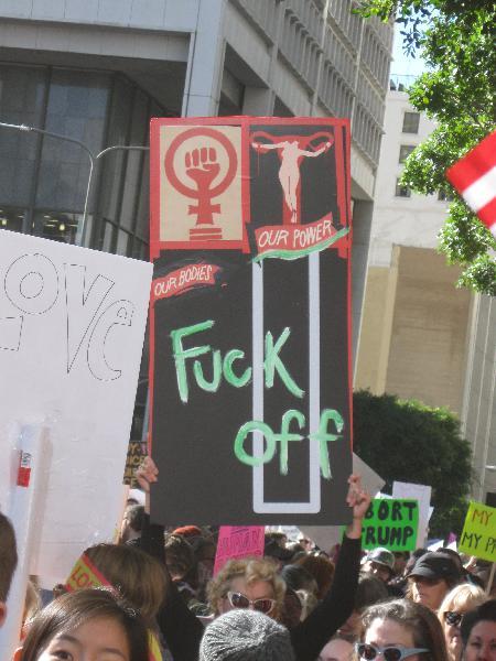 Women's March L.A....