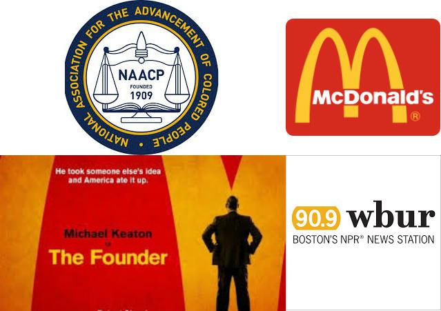 McDonald's, the NAA...