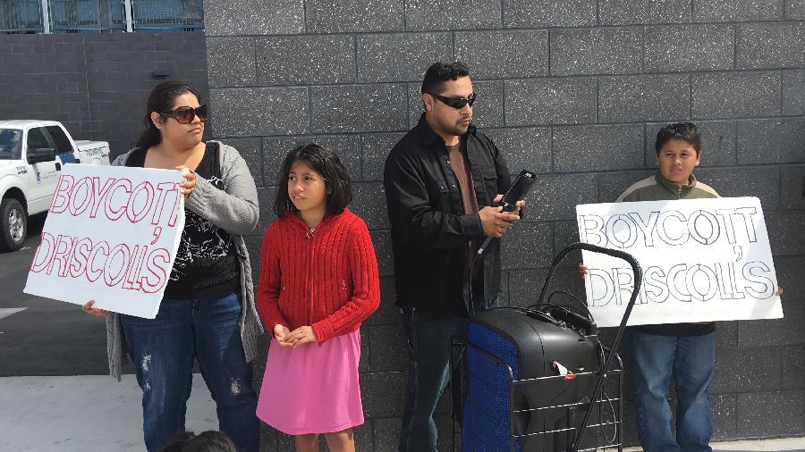 Families Protest Dri...