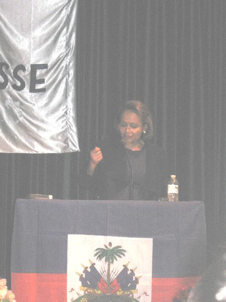 Maryse Narcisse Talk...